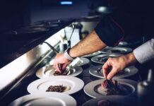 Wyposażenie kuchni w restauracji
